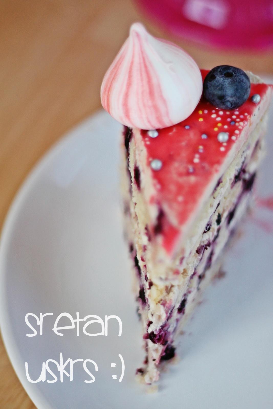 Torta od borovnica