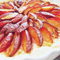 Tart od šljiva i oraha