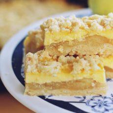 Puding kolač sa jabukama